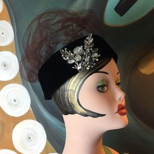Vintage Accessories - Vintage Don Anderson Pillbox Hat